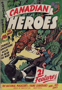 Cover Thumbnail for Canadian Heroes (Educational Projects, 1942 series) #v3#1