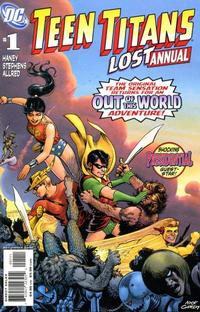 Cover Thumbnail for Teen Titans Lost Annual (DC, 2008 series) #1