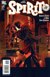 Cover Thumbnail for The Spirit (DC, 2007 series) #12