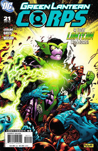 Cover Thumbnail for Green Lantern Corps (DC, 2006 series) #21