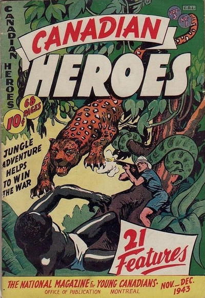 Cover for Canadian Heroes (Educational Projects, 1942 series) #v3#1