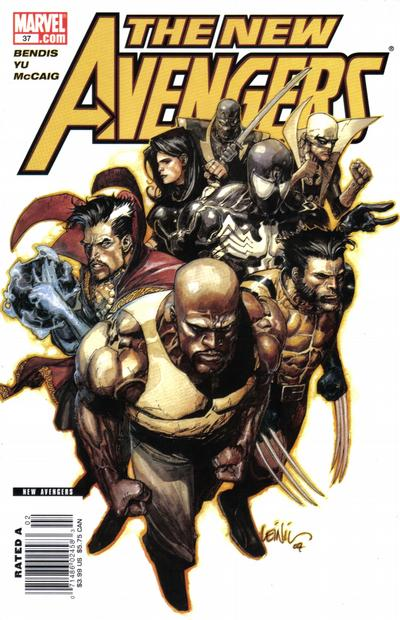 Cover for New Avengers (Marvel, 2005 series) #37 [Direct]