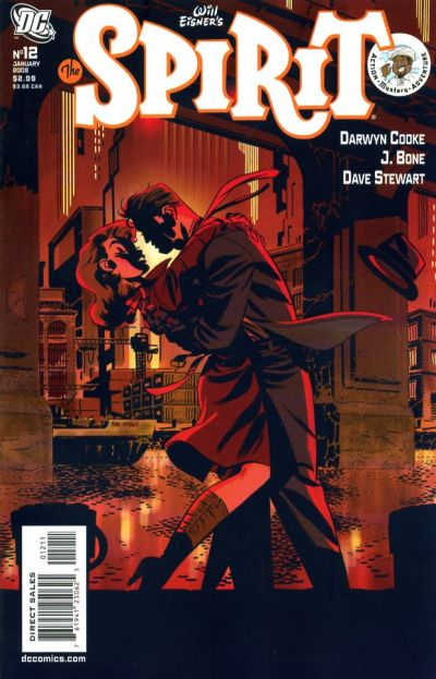 Cover for The Spirit (DC, 2007 series) #12