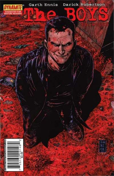Cover for The Boys (Dynamite Entertainment, 2007 series) #14