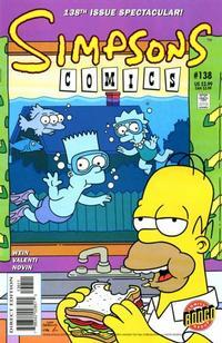 Cover Thumbnail for Simpsons Comics (Bongo, 1993 series) #138