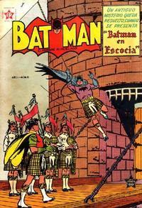 Cover Thumbnail for Batman (Editorial Novaro, 1954 series) #8