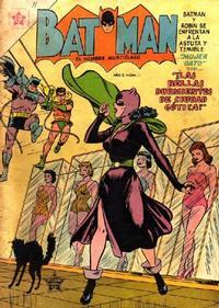 Cover Thumbnail for Batman (Editorial Novaro, 1954 series) #11