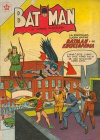 Cover Thumbnail for Batman (Editorial Novaro, 1954 series) #18