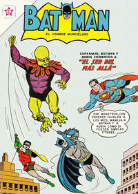 Cover Thumbnail for Batman (Editorial Novaro, 1954 series) #118