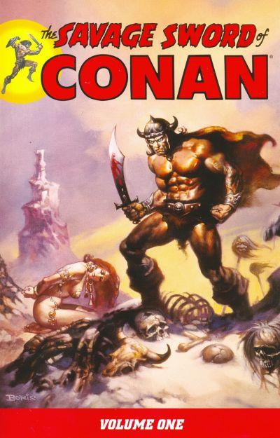 Cover for Savage Sword of Conan (Dark Horse, 2007 series) #1