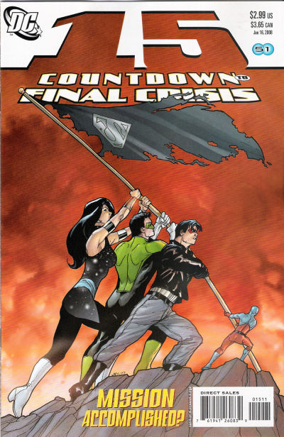 Cover for Countdown (DC, 2007 series) #15