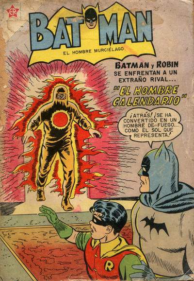Cover for Batman (Editorial Novaro, 1954 series) #62