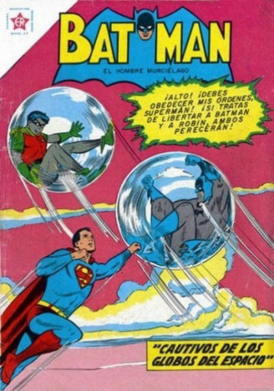 Cover for Batman (Editorial Novaro, 1954 series) #114