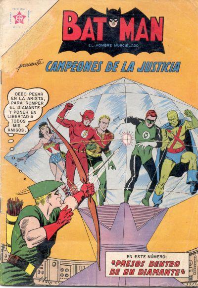 Cover for Batman (Editorial Novaro, 1954 series) #144