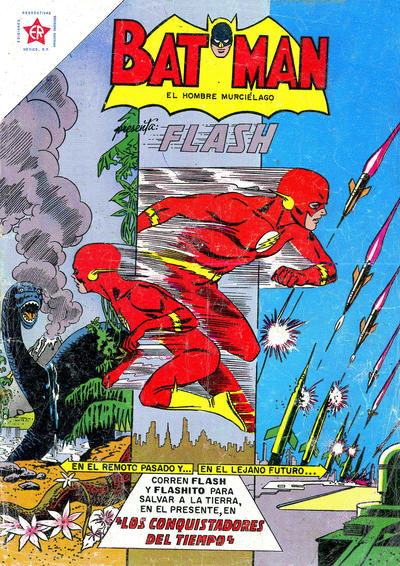 Cover for Batman (Editorial Novaro, 1954 series) #184