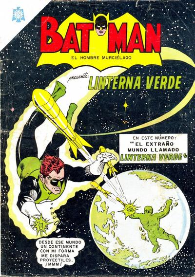 Cover for Batman (Editorial Novaro, 1954 series) #243