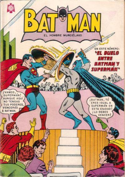 Cover for Batman (Editorial Novaro, 1954 series) #254