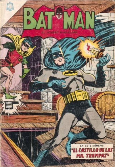 Cover for Batman (Editorial Novaro, 1954 series) #255