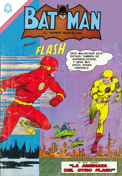 Cover for Batman (Editorial Novaro, 1954 series) #256
