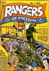Cover for Rangers of Freedom Comics (Fiction House, 1941 series) #1