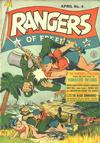 Cover for Rangers of Freedom Comics (Fiction House, 1941 series) #4