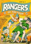 Cover for Rangers of Freedom Comics (Fiction House, 1941 series) #5
