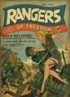Cover for Rangers of Freedom Comics (Fiction House, 1941 series) #7