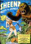 Cover for Sheena, Queen of the Jungle (Fiction House, 1942 series) #3