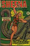 Cover for Sheena, Queen of the Jungle (Fiction House, 1942 series) #7