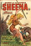 Cover for Sheena, Queen of the Jungle (Fiction House, 1942 series) #10