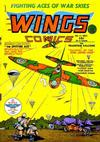 Cover for Wings Comics (Fiction House, 1940 series) #4