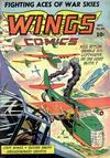 Cover for Wings Comics (Fiction House, 1940 series) #40