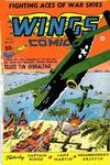 Cover for Wings Comics (Fiction House, 1940 series) #47