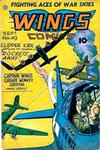 Cover for Wings Comics (Fiction House, 1940 series) #49