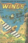 Cover for Wings Comics (Fiction House, 1940 series) #51