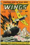 Cover for Wings Comics (Fiction House, 1940 series) #58
