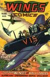 Cover for Wings Comics (Fiction House, 1940 series) #60