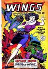 Cover for Wings Comics (Fiction House, 1940 series) #101