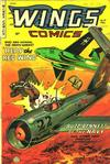 Cover for Wings Comics (Fiction House, 1940 series) #117