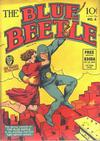Cover for Blue Beetle (Fox, 1940 series) #4
