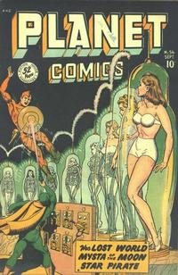 Cover Thumbnail for Planet Comics (Fiction House, 1940 series) #56