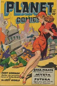 Cover Thumbnail for Planet Comics (Fiction House, 1940 series) #57