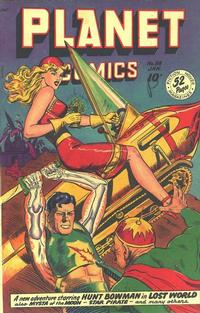 Cover Thumbnail for Planet Comics (Fiction House, 1940 series) #58