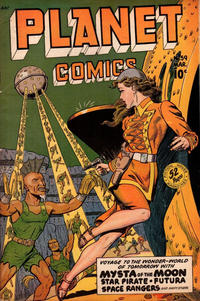 Cover Thumbnail for Planet Comics (Fiction House, 1940 series) #59