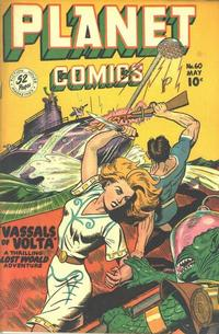 Cover Thumbnail for Planet Comics (Fiction House, 1940 series) #60