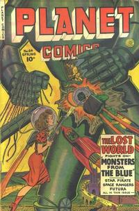 Cover Thumbnail for Planet Comics (Fiction House, 1940 series) #64