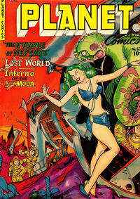 Cover Thumbnail for Planet Comics (Fiction House, 1940 series) #67