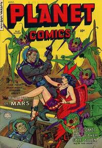 Cover Thumbnail for Planet Comics (Fiction House, 1940 series) #69