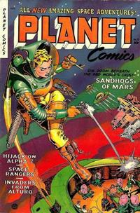 Cover Thumbnail for Planet Comics (Fiction House, 1940 series) #71