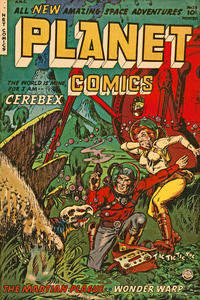 Cover Thumbnail for Planet Comics (Fiction House, 1940 series) #73